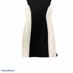 Primary Photo - BRAND: TAHARI STYLE: DRESS SHORT SHORT SLEEVE COLOR: BLACK WHITE SIZE: M SKU: 311-31111-38361