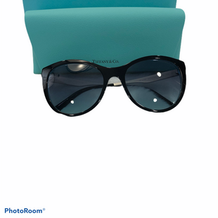 Primary Photo - BRAND: TIFFANY AND COMPANY STYLE: SUNGLASSES COLOR: BLUE OTHER INFO: TF4159 82749S 55 CRYSTAL BLUE AZURE SKU: 311-31111-40731