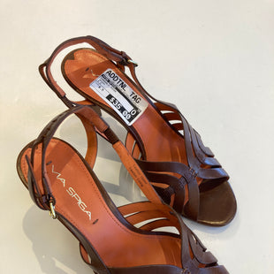 Primary Photo - BRAND: VIA SPIGA STYLE: SANDALS HIGH COLOR: BROWN SIZE: 6.5 SKU: 311-31120-3033