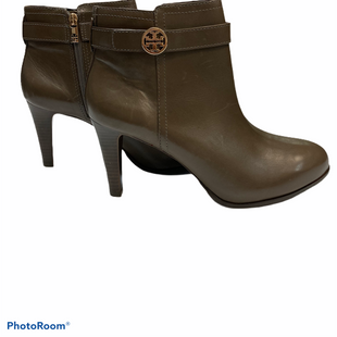 Primary Photo - BRAND: TORY BURCH STYLE: BOOTS ANKLE COLOR: TAUPE SIZE: 11 SKU: 311-31111-34920