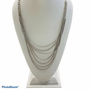 Primary Photo - BRAND:    CLOTHES MENTOR STYLE: NECKLACE COLOR: SILVER SKU: 311-31120-14700