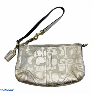Primary Photo - BRAND: COACH STYLE: WRISTLET COLOR: GOLD SKU: 311-31120-16177