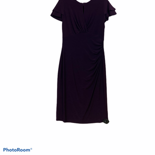 Primary Photo - BRAND: LAUREN BY RALPH LAUREN STYLE: DRESS SHORT SHORT SLEEVE COLOR: PURPLE SIZE: M SKU: 311-31116-2108