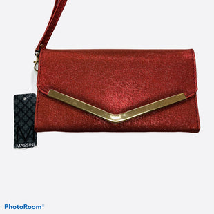Primary Photo - BRAND: MASSINI STYLE: CLUTCH COLOR: RED SIZE: 01 PIECE SKU: 311-31111-36884