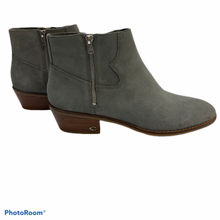 Primary Photo - BRAND: COACH STYLE: BOOTS DESIGNER COLOR: GREY SIZE: 10 SKU: 311-31111-34921