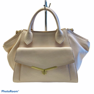 Primary Photo - BRAND: BOTKIER STYLE: HANDBAG DESIGNER COLOR: CREAM SIZE: MEDIUM SKU: 311-31130-3777