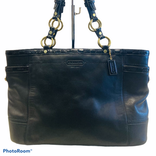Primary Photo - BRAND: COACH STYLE: HANDBAG COLOR: BLACK SIZE: LARGE SKU: 311-31120-15418