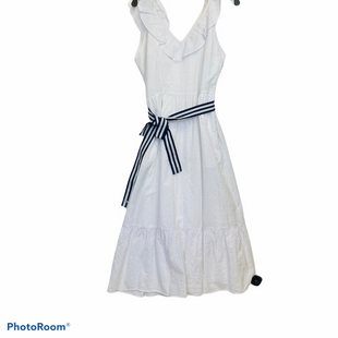 Primary Photo - BRAND: VINEYARD VINES STYLE: DRESS LONG SHORT SLEEVE COLOR: WHITE SIZE: M SKU: 311-31130-5014100% COTTOL