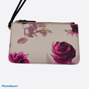 Primary Photo - BRAND: KATE SPADE STYLE: WRISTLET COLOR: FLORAL SKU: 311-31120-16139LIKE NEW CONDITION H 4.25IN X W FLAT X L 7IN