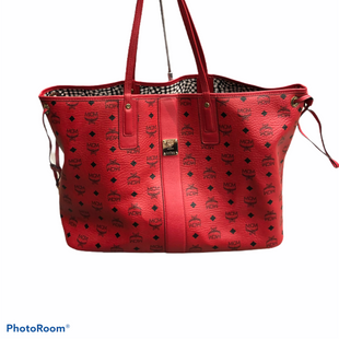 Primary Photo - BRAND: MCM STYLE: HANDBAG DESIGNER COLOR: RED SIZE: LARGE OTHER INFO: REVERSIBLE LIZ SHOPPER B2263 SKU: 311-31111-38945EXCELLENT CONDITION