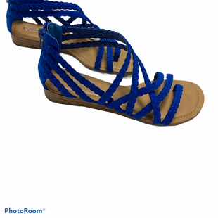 Primary Photo - BRAND: CARLOS SANTANA STYLE: SANDALS FLAT COLOR: BLUE SIZE: 7 SKU: 311-31130-5389LIKE NEW CONDITION