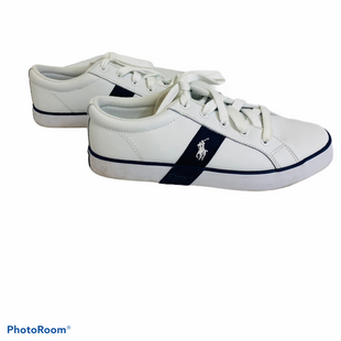 Primary Photo - BRAND: POLO RALPH LAUREN STYLE: SHOES ATHLETIC COLOR: WHITE SIZE: 7 SKU: 311-31120-14020