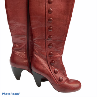 Primary Photo - BRAND: CROWN VINTAGE STYLE: BOOTS KNEE COLOR: BURGUNDY SIZE: 7.5 SKU: 311-31111-33455