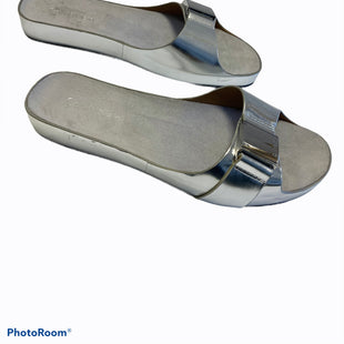 Primary Photo - BRAND: CALVIN KLEIN STYLE: SANDALS FLAT COLOR: SILVER SIZE: 6 SKU: 311-31120-16133