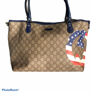 Primary Photo - BRAND: GUCCI STYLE: HANDBAG DESIGNER COLOR: RED WHITE BLUE SIZE: MEDIUM OTHER INFO: AMERICAN FLAG JOY GG 203693 001998 SKU: 311-31111-39502RARE AND A STATEMENT PIECE!NOTE CORNERS AND SMALL STAINS INSIDE