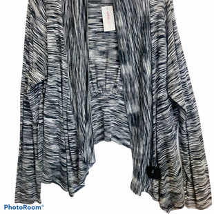 Primary Photo - BRAND: LANE BRYANT STYLE: SWEATER CARDIGAN LIGHTWEIGHT COLOR: STRIPED SIZE: 2X SKU: 311-31114-7332LONGER FRONT, SITS ON WAIST IN BACK