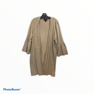 Primary Photo - BRAND: LANE BRYANT STYLE: SWEATER CARDIGAN LIGHTWEIGHT COLOR: CAMEL SIZE: 3X SKU: 311-31120-14682
