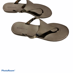 Primary Photo - BRAND: BCBGENERATION STYLE: SANDALS FLAT COLOR: METALLIC SIZE: 7 SKU: 311-31130-5391