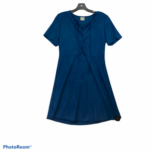 Primary Photo - BRAND: PAPER CRANE STYLE: DRESS SHORT SHORT SLEEVE COLOR: BLUE SIZE: M SKU: 311-31130-3751