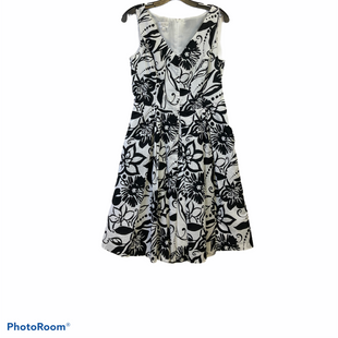 Primary Photo - BRAND: KASPER STYLE: DRESS SHORT SLEEVELESS COLOR: BLACK WHITE SIZE: M SKU: 311-31130-1145