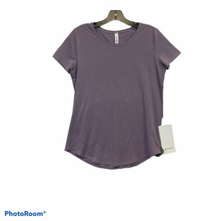 Primary Photo - BRAND: LULULEMON STYLE: ATHLETIC TOP SHORT SLEEVE COLOR: PURPLE SIZE: 6 SKU: 311-31130-5806