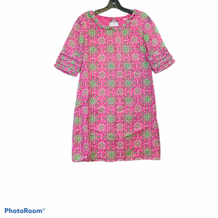 Primary Photo - BRAND: LILLY PULITZER STYLE: DRESS SHORT SHORT SLEEVE COLOR: PINK SIZE: 2 SKU: 311-31120-1545977%. SILK