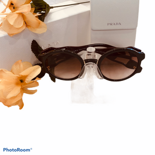 Primary Photo - BRAND: PRADA STYLE: SUNGLASSES COLOR: BROWN OTHER INFO: PR13US DHO0A6 54MM SKU: 311-31111-40732