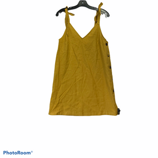 Primary Photo - BRAND: TOP SHOP STYLE: DRESS SHORT SLEEVELESS COLOR: MUSTARD SIZE: S SKU: 311-31116-2132