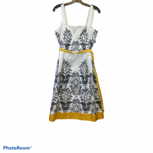Primary Photo - BRAND: DRESSBARN STYLE: DRESS SHORT SLEEVELESS COLOR: BLACK WHITE YELLOWSIZE: M SKU: 311-31111-38140