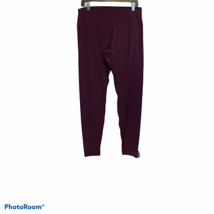 Primary Photo - BRAND: LULULEMON STYLE: ATHLETIC PANTS COLOR: BURGUNDY SIZE: XL OTHER INFO: 14 SKU: 311-31116-2427