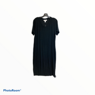 Primary Photo - BRAND: MOTHERHOOD STYLE: DRESS SHORT SLEEVE COLOR: BLACK SIZE: 1X SKU: 311-31111-39017