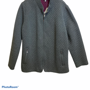 Primary Photo - BRAND: TALBOTS STYLE: JACKET OUTDOOR COLOR: GREY SIZE: 2X SKU: 311-31120-11645