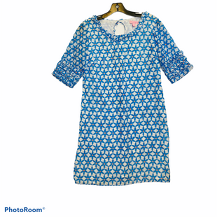 Primary Photo - BRAND: LILLY PULITZER STYLE: DRESS SHORT SHORT SLEEVE COLOR: BLUE SIZE: 2 SKU: 311-31120-1546677% SILK THE REST IS COTTON