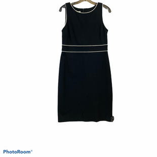 Primary Photo - BRAND: TALBOTS O STYLE: DRESS SHORT SLEEVELESS COLOR: BLACK WHITE SIZE: PETITE  MEDIUM SKU: 311-31111-35748