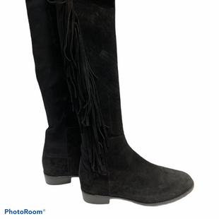 Primary Photo - BRAND: STUART WEITZMAN STYLE: BOOTS KNEE COLOR: BLACK SIZE: 7.5 SKU: 311-31111-8028SUEDE WITH STRETCHY BACK PANEL