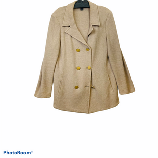 Primary Photo - BRAND: ST JOHN KNITS STYLE: BLAZER JACKET COLOR: CAMEL SIZE: XL OTHER INFO: AS IS SIZE 14 SKU: 311-31111-39900AS IS SMALL HOLE SEE LAST PIC