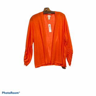 Primary Photo - BRAND: CHICOS STYLE: SWEATER CARDIGAN LIGHTWEIGHT COLOR: ORANGE SIZE: L SKU: 311-31116-2725CHICO'S SIZE 2