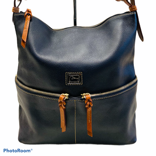 Primary Photo - BRAND: DOONEY AND BOURKE STYLE: HANDBAG DESIGNER COLOR: NAVY SIZE: LARGE SKU: 311-31130-4578