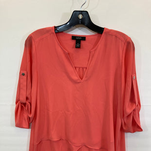 Primary Photo - BRAND: ALFANI STYLE: TOP LONG SLEEVE COLOR: CORAL SIZE: 4PETITE SKU: 311-31120-13233