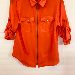 Primary Photo - BRAND: MICHAEL KORS STYLE: TOP SHORT SLEEVE COLOR: ORANGE SIZE: XS SKU: 311-31130-1321
