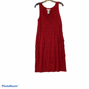 Primary Photo - BRAND: LONDON STYLE STYLE: DRESS SHORT SLEEVELESS COLOR: RED SIZE: M SKU: 311-31116-883