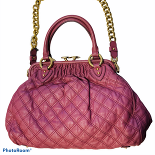 Primary Photo - BRAND: MARC JACOBS STYLE: HANDBAG DESIGNER COLOR: PINK SIZE: LARGE OTHER INFO: STAM BAG SKU: 311-31130-5117