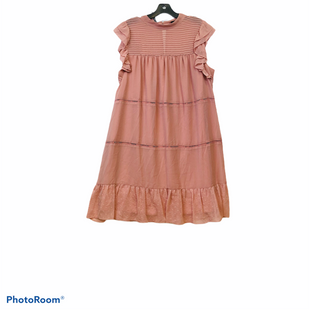 Primary Photo - BRAND: WHO WHAT WEAR STYLE: DRESS SHORT SLEEVELESS COLOR: PEACH SIZE: XXL SKU: 311-31120-13551RUNS SMALL