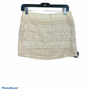 Primary Photo - BRAND: SANS SOUCI STYLE: SKIRT COLOR: IVORY SIZE: S SKU: 311-31111-39804