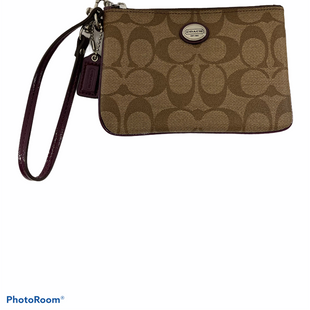 Primary Photo - BRAND: COACH STYLE: WRISTLET COLOR: BROWN SKU: 311-31120-14779