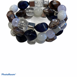 Primary Photo - BRAND: NEW YORK AND CO STYLE: BRACELET COLOR: BLUE WHITE OTHER INFO: THREE BAND SKU: 311-31111-37289