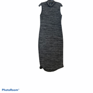 Primary Photo - BRAND: CHELSEA AND THEODORE STYLE: DRESS LONG SLEEVELESS COLOR: BLACK SIZE: M SKU: 311-31130-4008BLACK AND GRAY