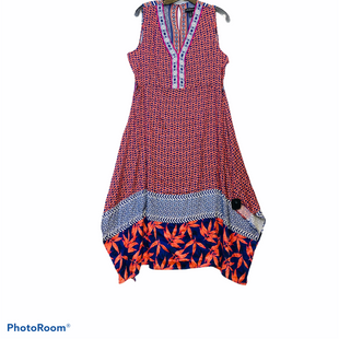Primary Photo - BRAND: TRIBAL STYLE: DRESS SHORT SLEEVELESS COLOR: ORANGE SIZE: L SKU: 311-31130-4728