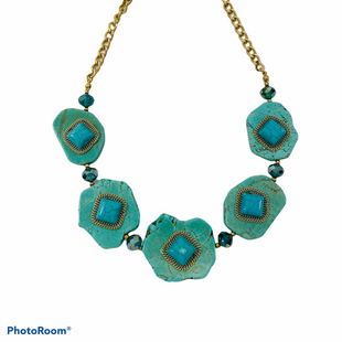 Primary Photo - BRAND:    CLOTHES MENTOR STYLE: NECKLACE COLOR: TURQUOISE SIZE: 02 PIECE SET OTHER INFO: CITY - SKU: 311-31130-5259