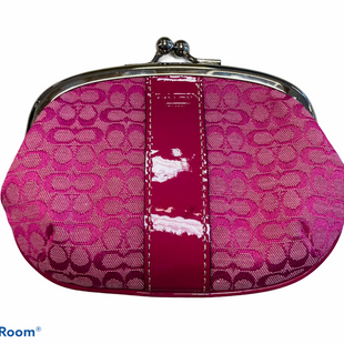 Primary Photo - BRAND: COACH STYLE: COIN PURSE COLOR: PINK SIZE: LARGE SKU: 311-31130-3878